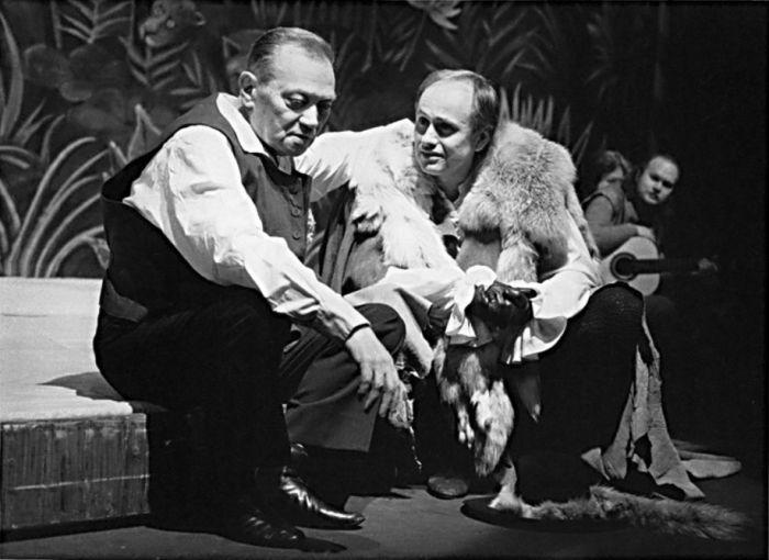 Na Nové scéně Národního divadla v roce 1991, v shakespearovské klasice Jak se vám líbí