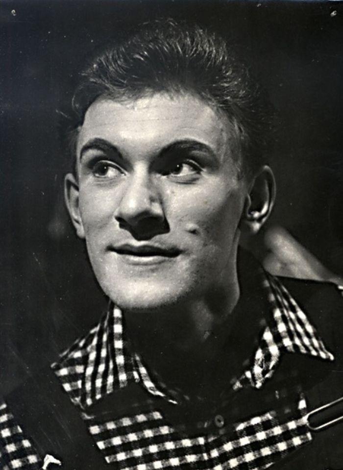 V muzikálu Čert na štaflích – Divadlo Petra Bezruče Ostrava, 1961