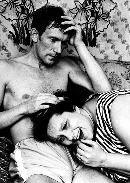 Ludva a Heduš (Helena Růžičková) v prvním dílu filmové trilogie Ecce homo Homolka