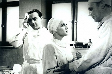 V roce 1948 ve válečném dramatu Vlčie diery