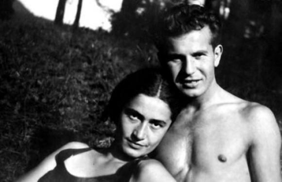S manželem ve 40. letech v Bratislavě
