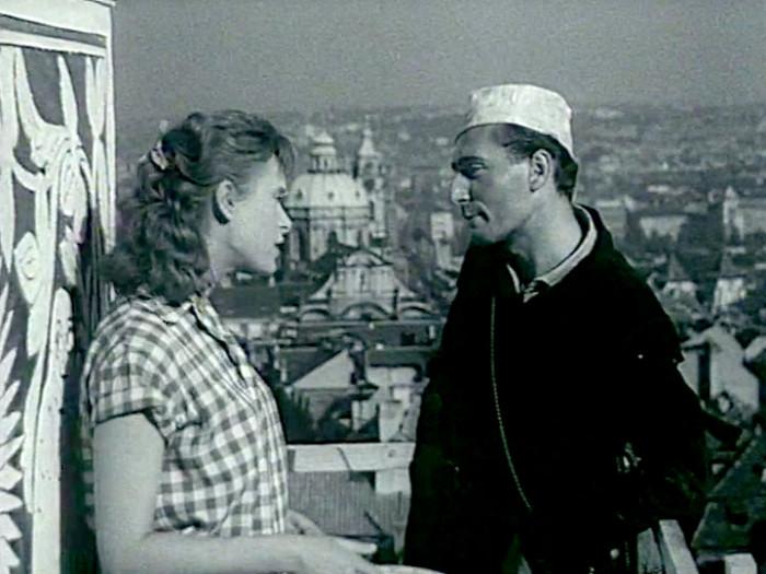 Kominík v psychologickém dramatu z roku 1959 První a poslední