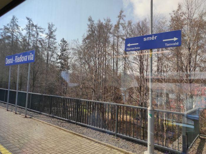 Desná Riedlova vila