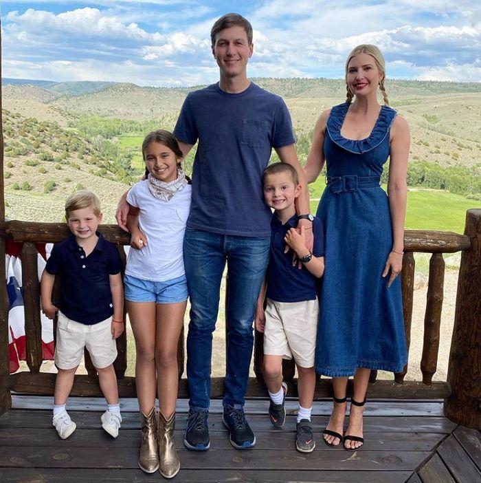 Ivanka Trump rodina