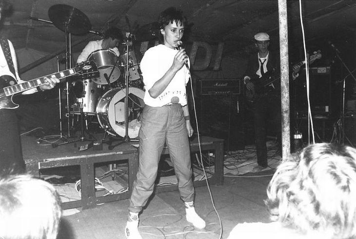 V roce 1984 na Benátské noci v Suchých Lazcích