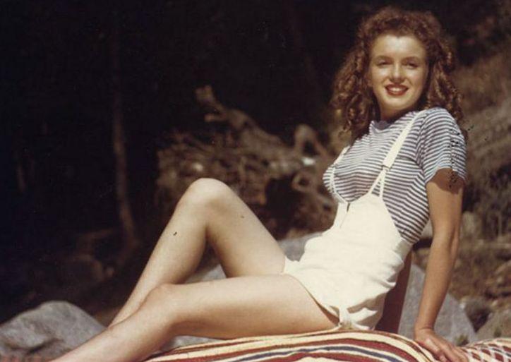 Marylin Monroe, 1945