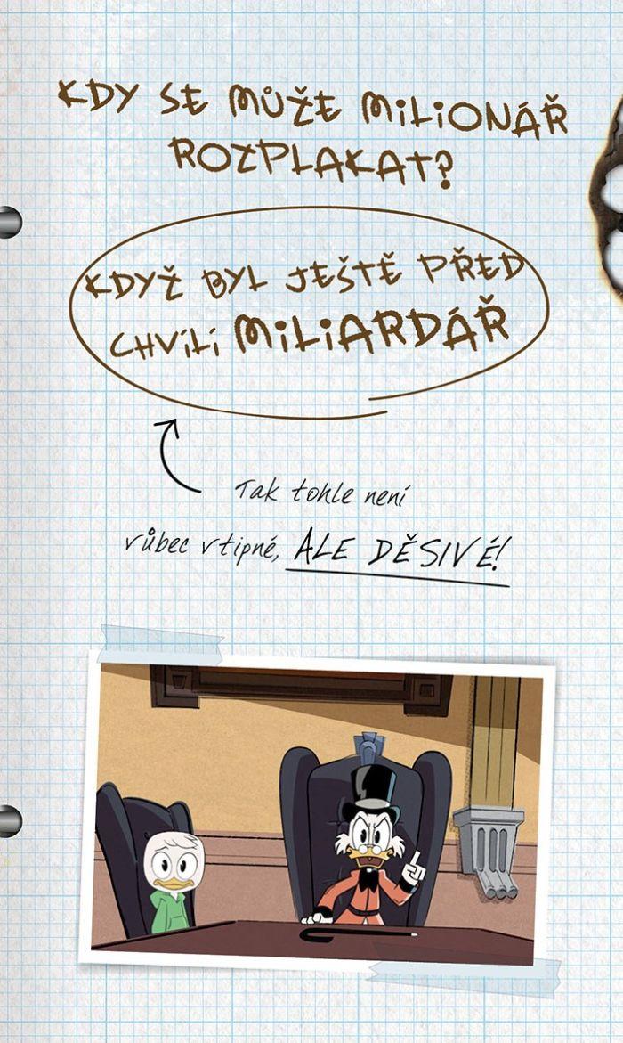Kačeří příběhy - kniha vtipů: Rampův zábavný notes