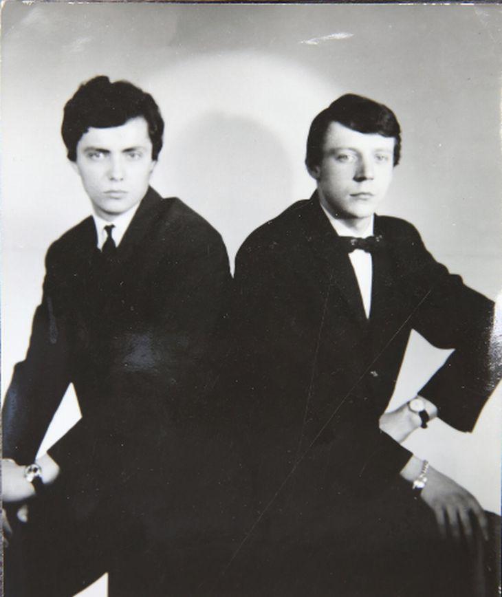 Hvězdy 60. let - Karel Kahovec a Petr Novák (vpravo)