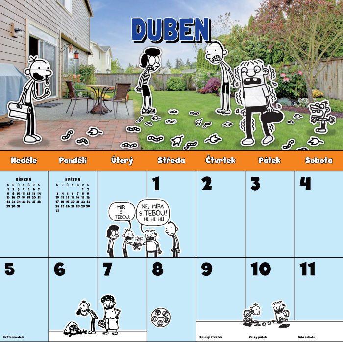 Kalendář malého poseroutky 2020