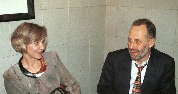 S manželkou Danielou Kolářovou
