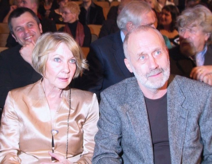 S manželem Jiřím Ornestem na nominačním večeru Českého lva