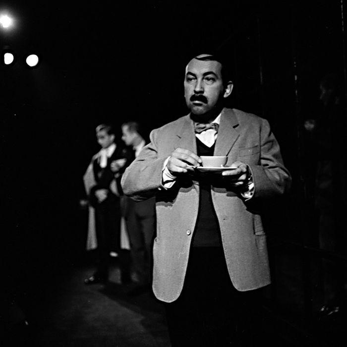 V počátcích angažmá v Divadle E. F. Buriana – v roce 1964 jako porotce v inscenaci Vrah lidumil aneb Nepřirozená zvířata