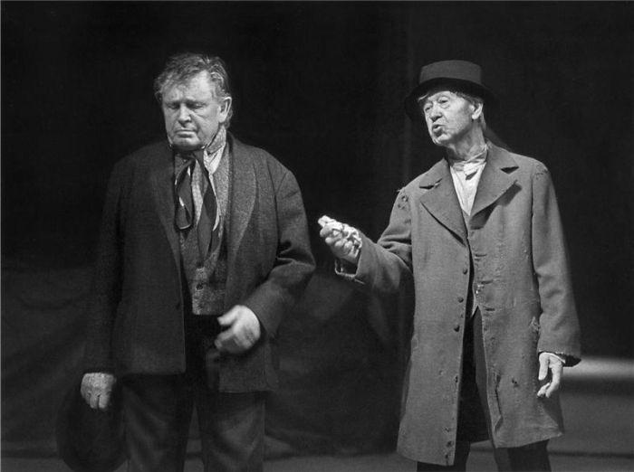 S Karlem Hlušičkou v roce 1997 v představení Národního divadla Paličova dcera