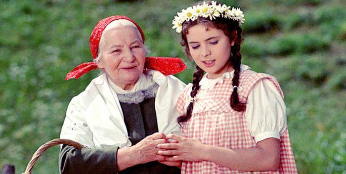 Slavná Babička s Libuší Šafránkovou v roli Barunky