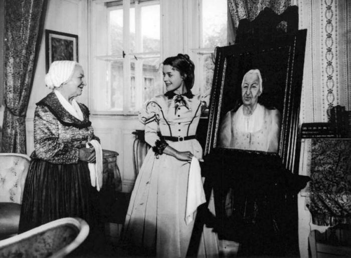 S Magdou Vášáryovou jako komtesou Hortensií