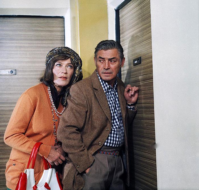 Opět s Lubou Skořepovou, tentokrát v seriálu Františka Filipa Dnes v jednom domě