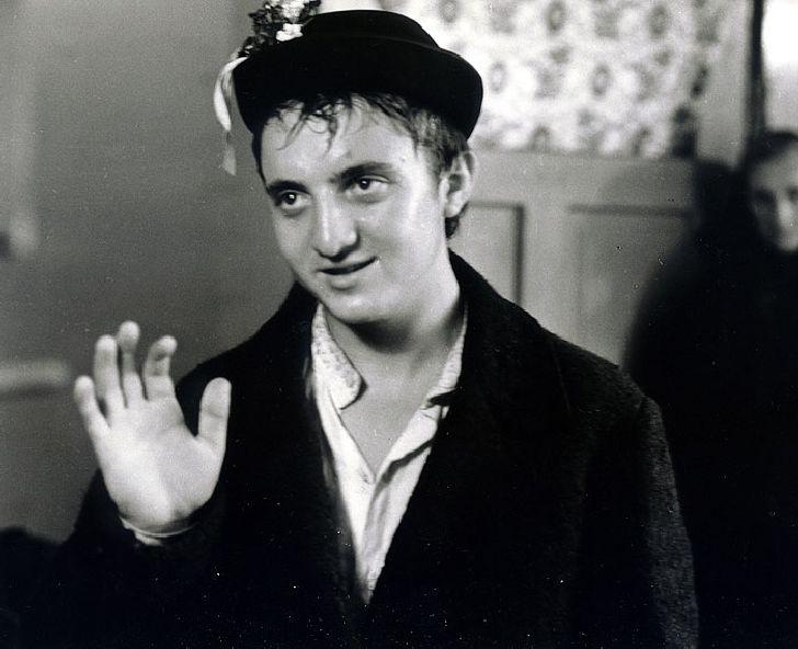 Pasáček hus a obecní blázen Ondráš v televizním filmu z toku 1965 Neprebudený