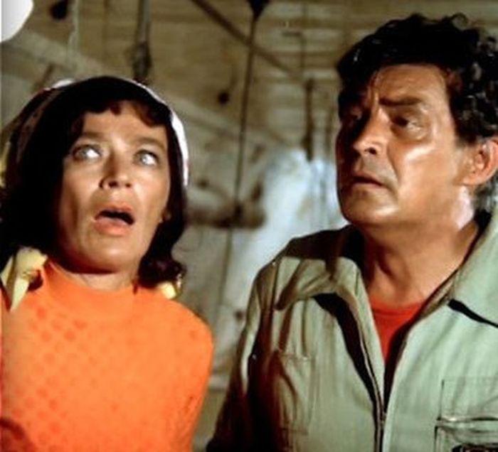 Aranka a Fero v seriálu Chalupáíři