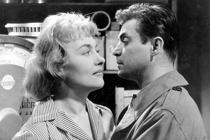 S Dagmar Zikánovou v roce 1959, v detektivce 105% alibi
