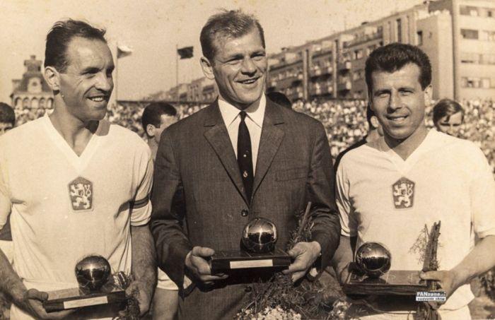 Ladislav Novák, Svatopluk Pluskal a Josef Masopust