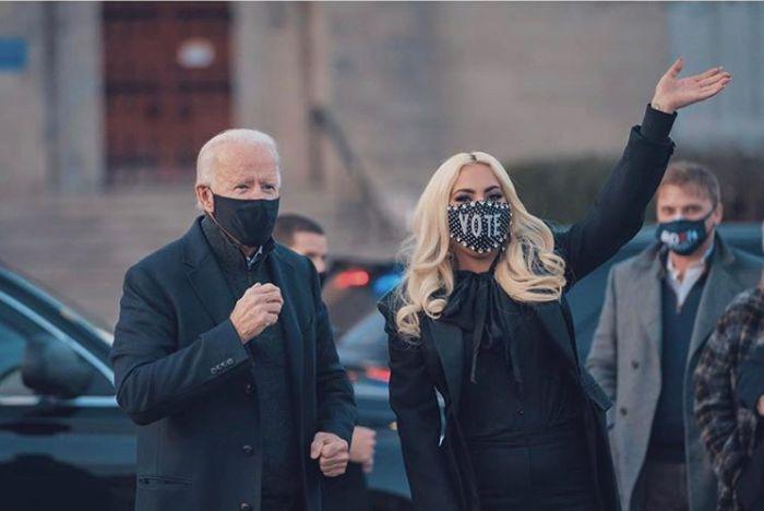 Lady Gaga Biden