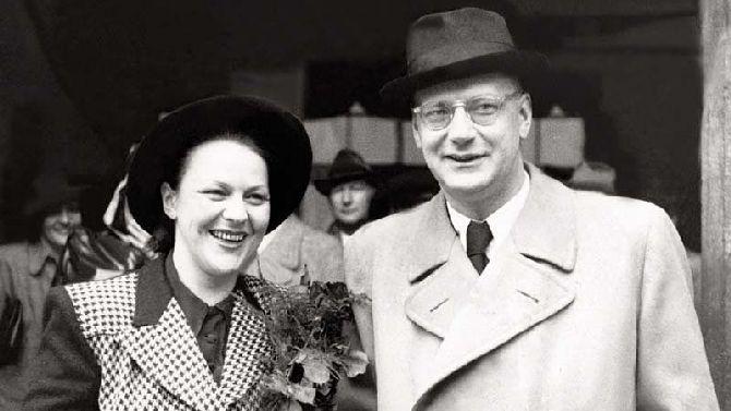 S druhým manželem Vladislavem Čalounem