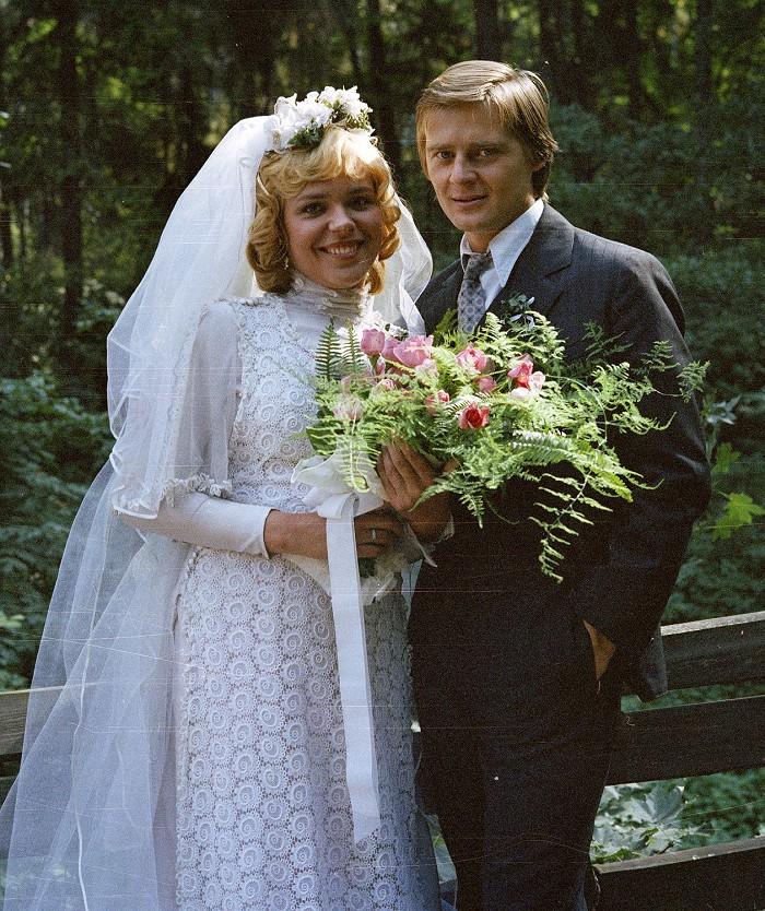 S Dagmar Havlovou v roce 1982 v bakalářské povídce Žhářka