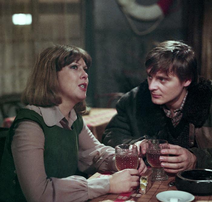 S Vlastou Žehrovou v roce 1983, v rodinném dramatu Hodina před ránem