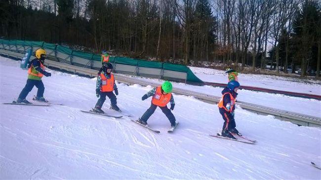 MŠ na lyžích