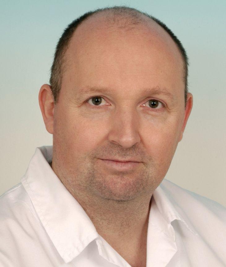 Primář Oddělení léčby bolesti Fakultní nemocnice Brno MUDr. Marek Hakl, Ph.D.