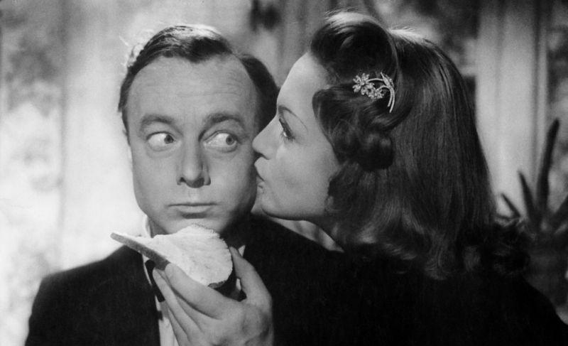 S Heinzem Rühmannem v roce 1943 ve filmu Svěřuji ti svou ženu