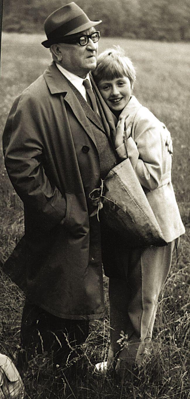 S nemanželskou dcerou Alenkou