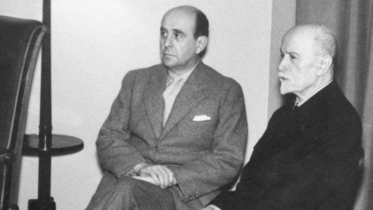 S otcem, prezidentem T. G. Masarykem