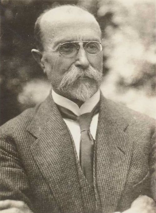 T. G. Masaryk - Předseda Národní rady v ruském Berezne v srpnu 1917