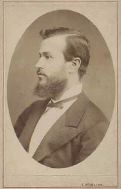 T. G. Masaryk - Čerstvý doktor v roce 1876