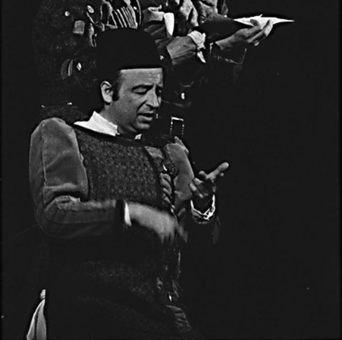 Samson v tragédii Williama Shakespeara Romeo a Julie – Divadlo Jiřího Wolkera 1972