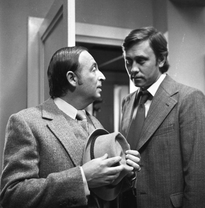 S Jaroslavem Satoranským v kriminálce režiséra Dušana Kleina z roku 1977 Sázka na třináctku