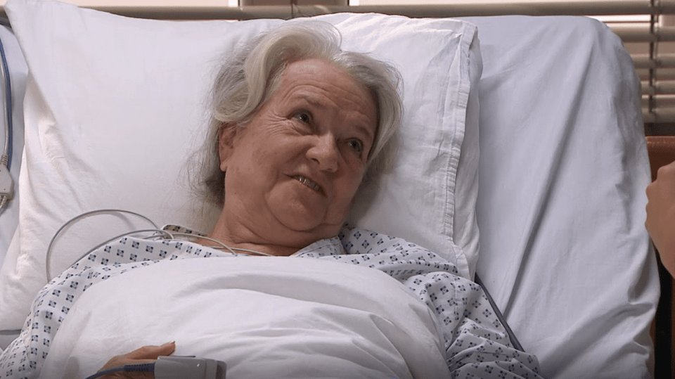 Pacientka v seriálu Sestřičky Modrý kód