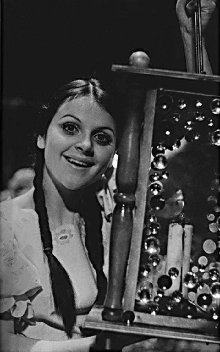 Hanička v roce 1976 v Jiráskově Lucerně