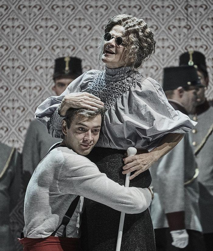 Aktuálně ve Stavovském divadle jako Klára v psychologickém dramatu Stefana Zweiga Netrpělivost srdce