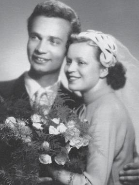 Vladimír Menšík a manželka Věra Šimšová