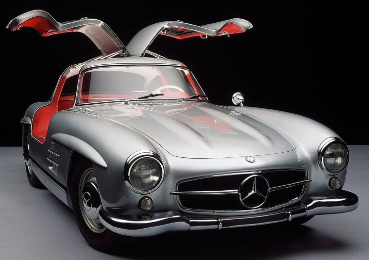 Ookřídlená legenda Mercedes Gullwing