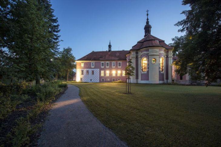 Zámek Mitrowicz se poprvé ve své historii otevřel veřejnosti před dvěma lety