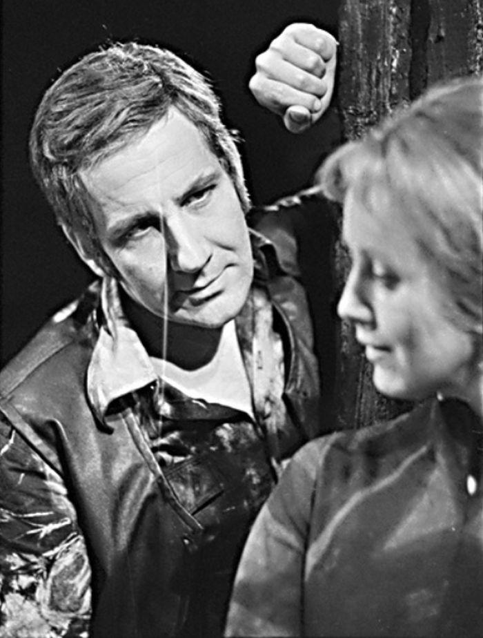 Se Slávkou Špánkovou-Hozovou v dramatu Eugene O'Neilla Smutek sluší Elektře – Divadlo S. K. Neumanna 1976