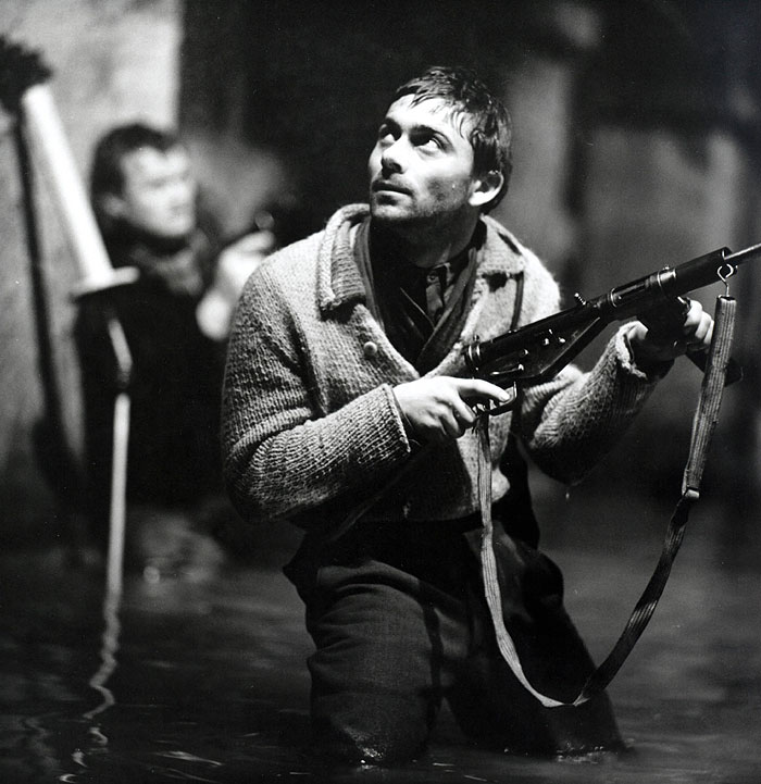 Josef Gabčík alias rotmistr Vyskočil zvaný Zdeněk ve válečném dramatu Jiřího Sequense Atentát