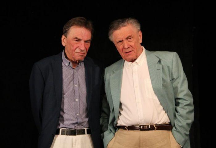 S Petrem Kostkou v Divadle Ungelt, v tragikomedii Lionela Goldsteina Pan Halpern a pan Johnson