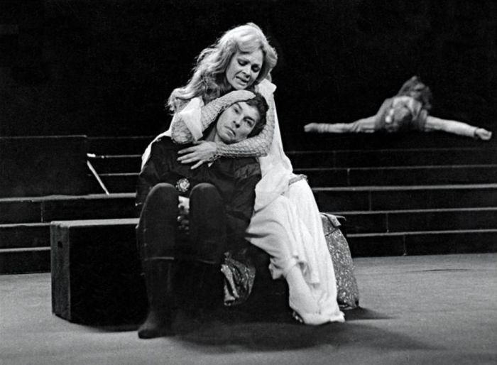 S Janou Hlaváčovou v Shakespearově tragédii Hamlet