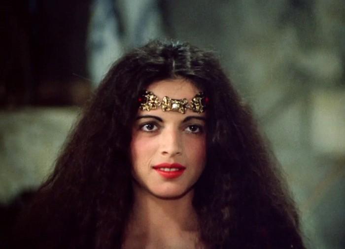 Krásná princezna Bosana v pohádce Tři veteráni