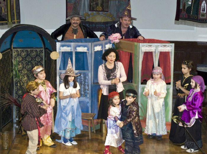 Představení dětského divadla Feigele