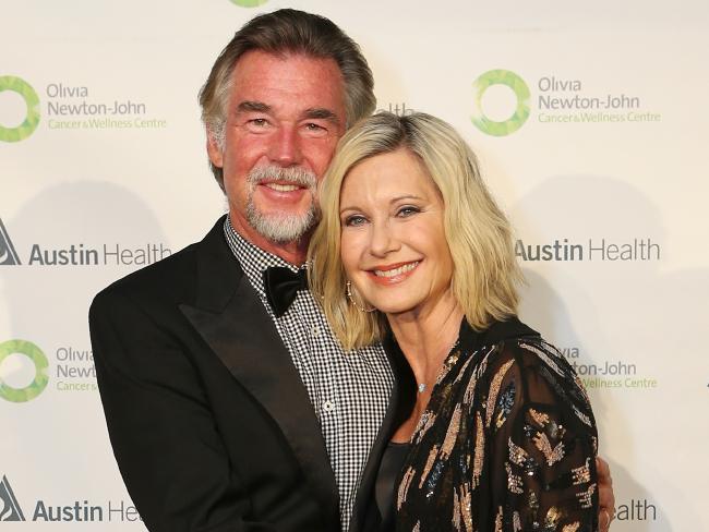 S manželem Johnem Easterlingem